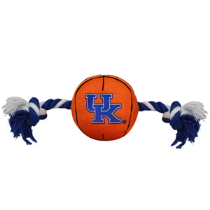 Kentucky Wildcats Basketball Nylon and Rope Toy