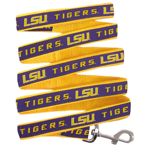 LSU Louisiana State Tigers Dog Leash