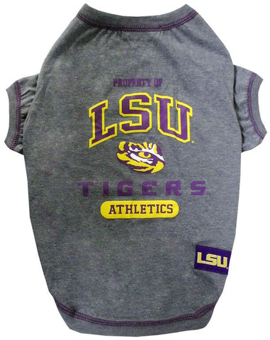 LSU Louisiana State Tigers Dog T-Shirt