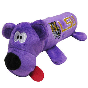 LSU Louisiana State Tigers Plush Tube Toy