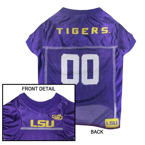 LSU Louisiana State Tigers Dog Jersey