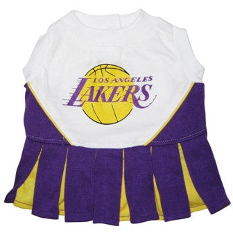 LA Lakers Dog Cheerleader Uniform