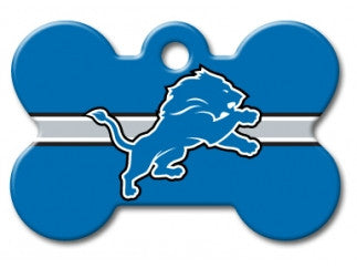 Detroit Lions Dog ID Tag