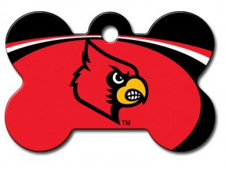 Louisville Cardinals Dog ID Tag