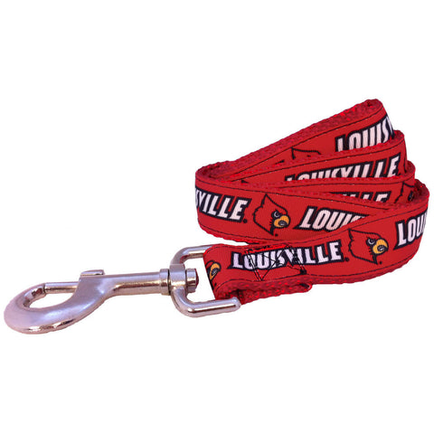 Louisville Cardinals Premium Dog Leash