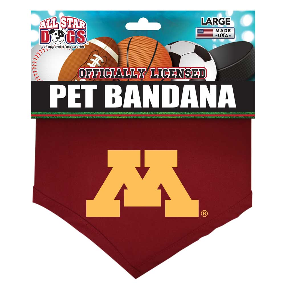 Minnesota Golden Gophers Dog Bandana