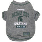 Michigan State Spartans Dog T-Shirt