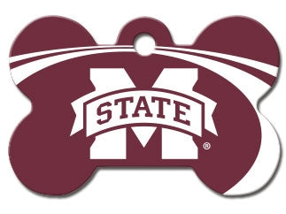 Mississippi State Bulldogs Dog ID Tag