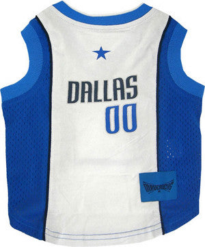 Dallas Mavericks Dog Tank Jersey
