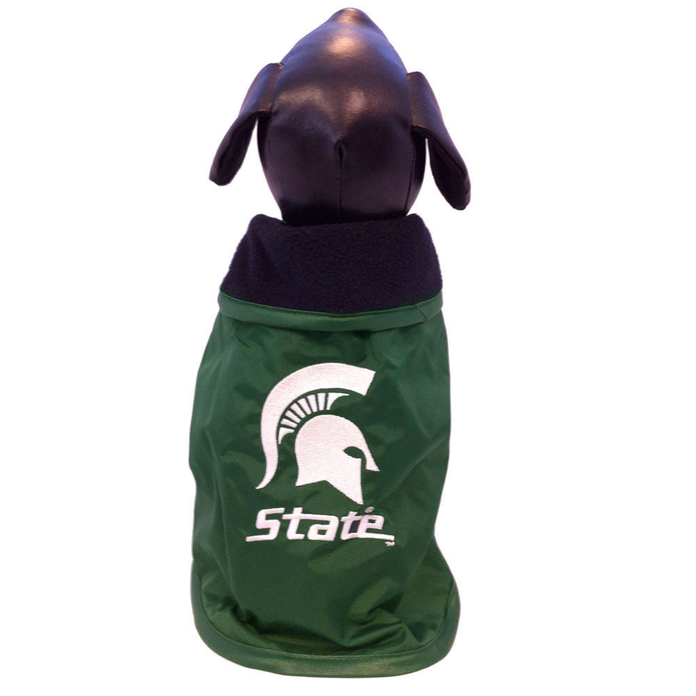 Michigan State Spartans Dog Coat