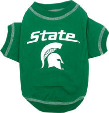 Michigan State Spartans Dog T-Shirt (Discontinued)