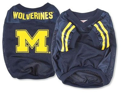 Michigan Wolverines Dog Jersey (Discontinued)