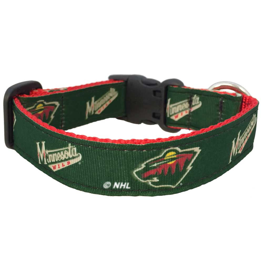 Minnesota Wild Premium Dog Collar