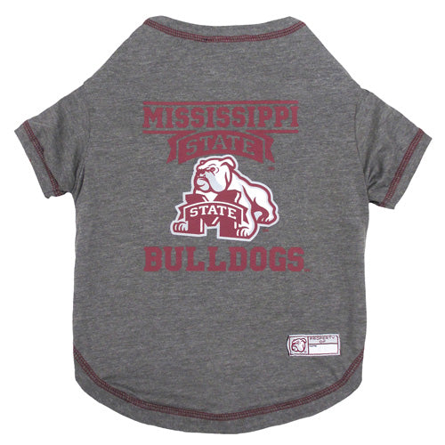 Mississippi State Bulldogs Dog T-Shirt