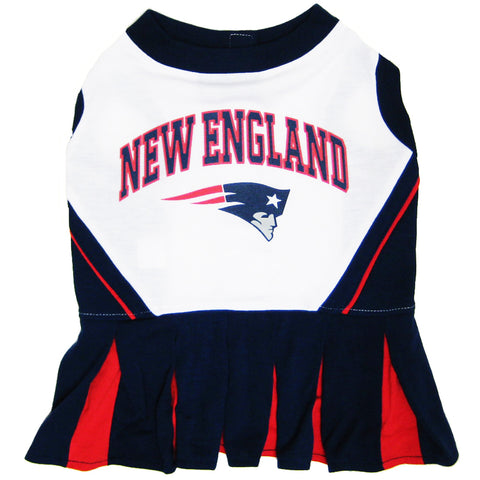 New England Patriots Dog Cheerleader Uniform