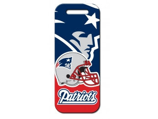 New England Patriots Luggage Tag