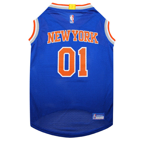 New York Knicks Mesh Dog Jersey