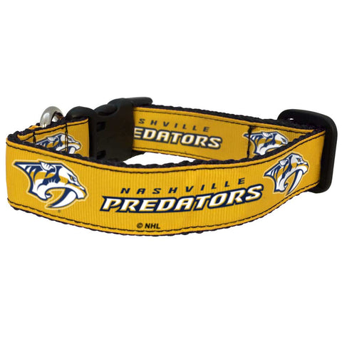 Nashville Predators Premium Dog Collar