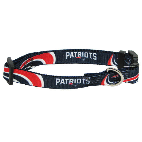 New England Patriots Premium Dog Collar (Discontinued)