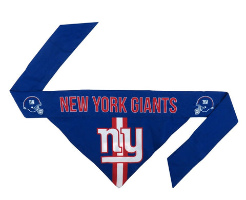 New York Giants Reversible Dog Bandana