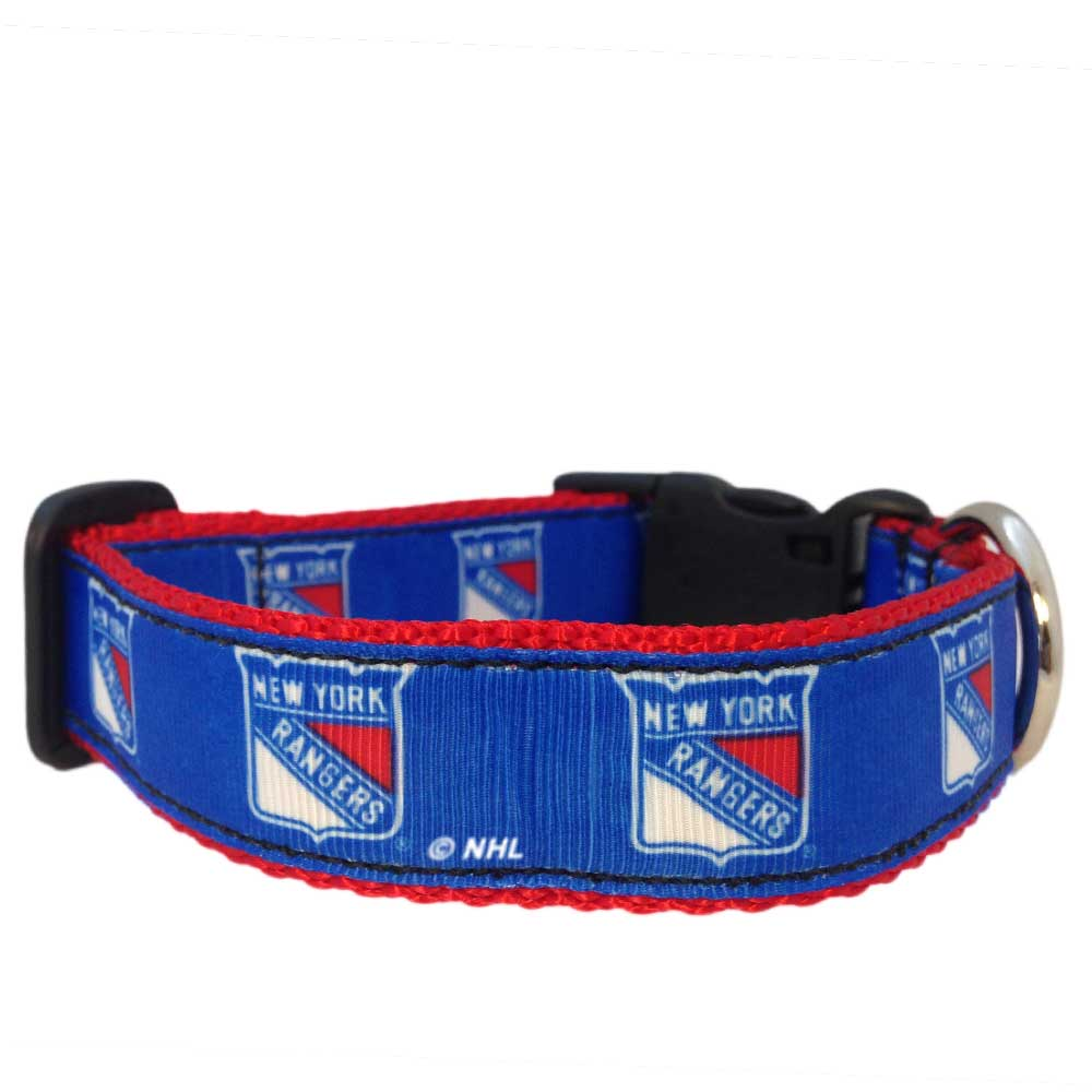 New York Rangers Premium Dog Collar