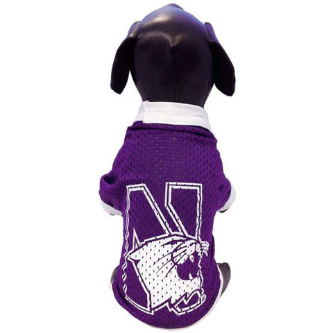 Northwestern Wildcats Dog Jersey