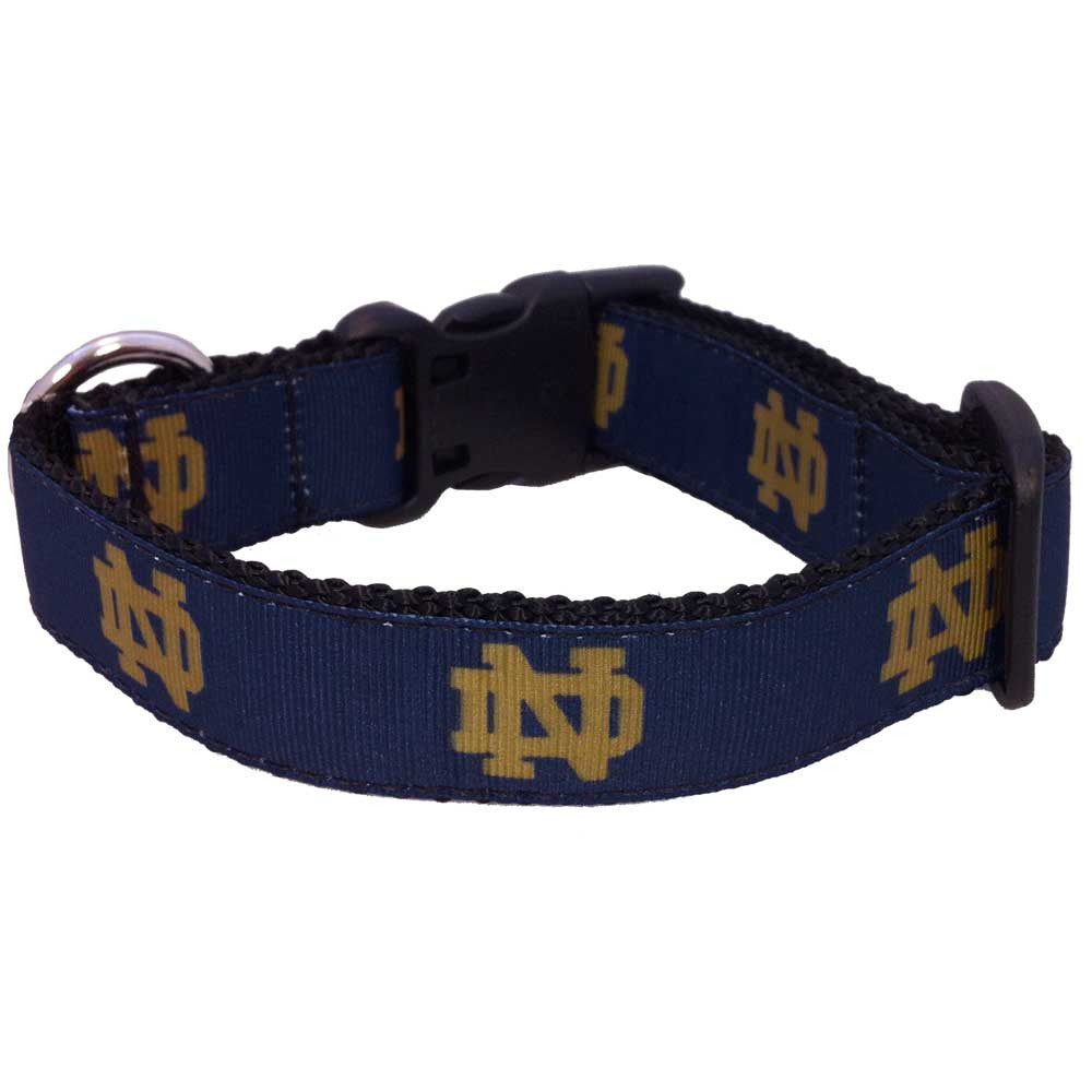 Notre Dame Fighting Irish Premium Dog Collar