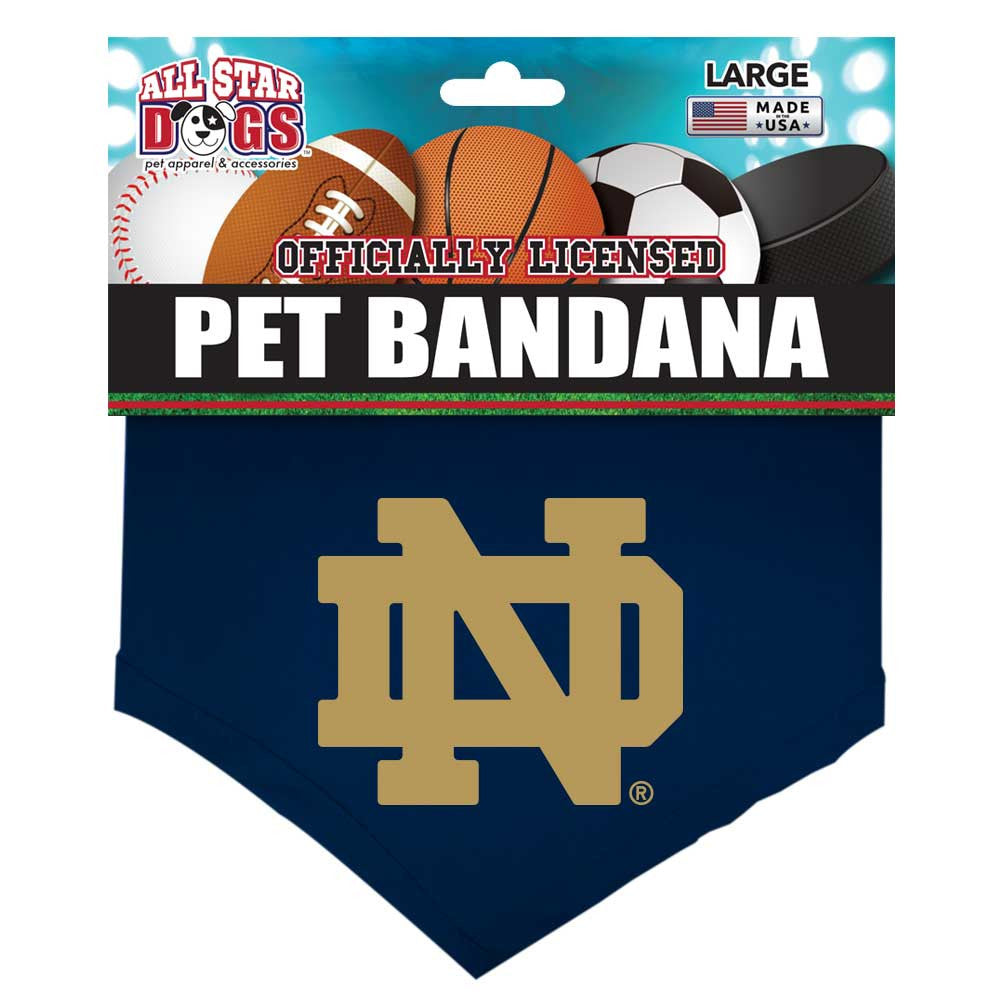 Notre Dame Fighting Irish Dog Bandana