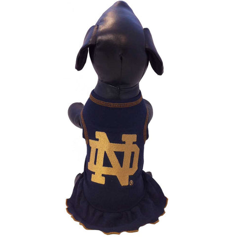 Notre Dame Fighting Irish Cheerleader Dog Dress
