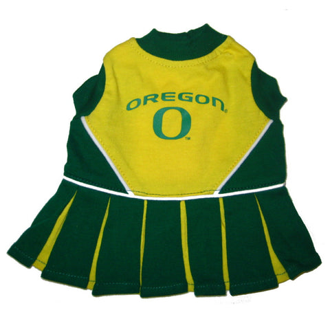 Oregon Ducks Dog Cheerleader Uniform