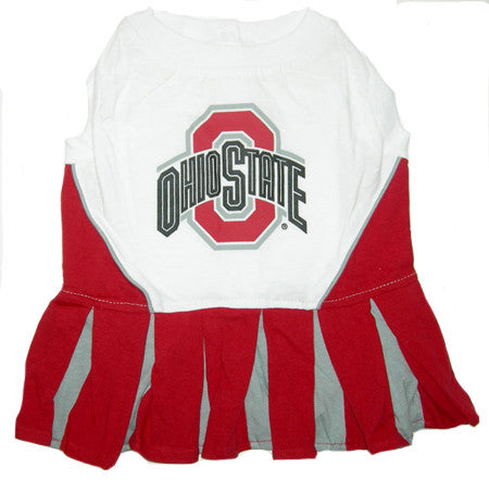 Ohio State Buckeyes Dog Cheerleader Uniform