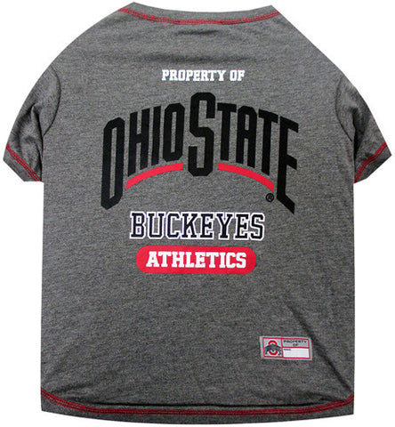 Ohio State Buckeyes Dog T-Shirt
