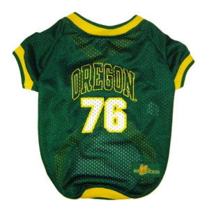 Oregon Ducks Dog Jersey (Discontinued)