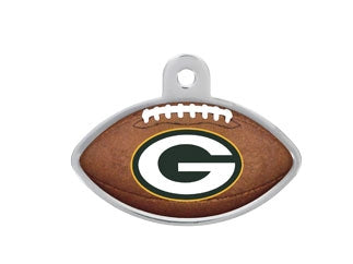 Green Bay Packers Football Dog ID Tag