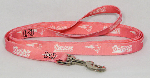 New England Patriots Pink Dog Leash (Discontinued)