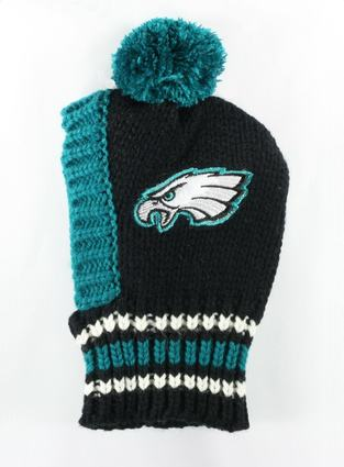 Philadelphia Eagles Dog Knit Hat