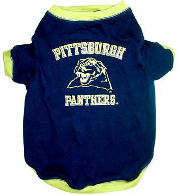 Pittsburgh Panthers Dog T-Shirt