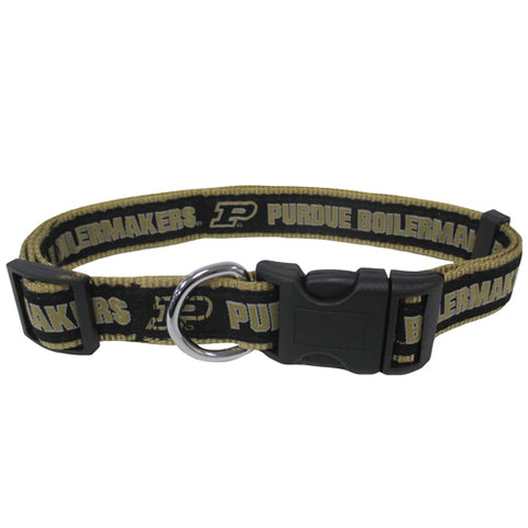 Purdue Boilermakers Dog Collar