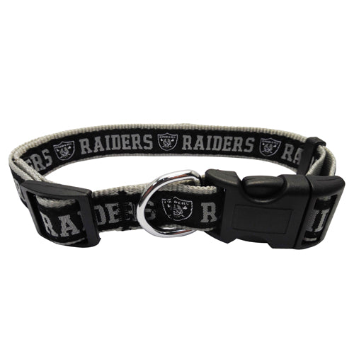 Las Vegas Raiders Dog Collar