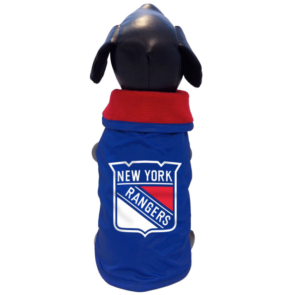 New York Rangers Dog Coat