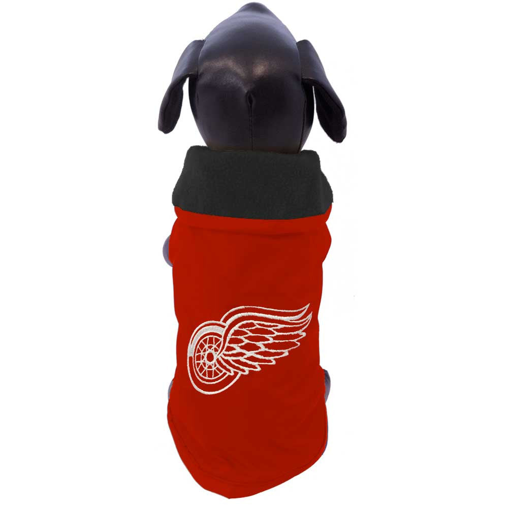 Detroit Red Wings Dog Coat
