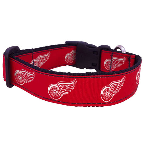 Detroit Red Wings Premium Dog Collar