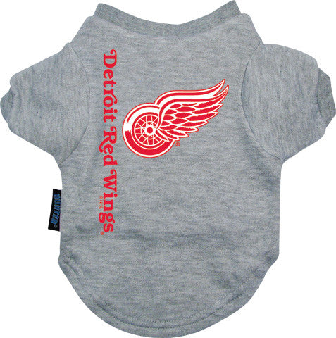 Detroit Red Wings Dog T-Shirt