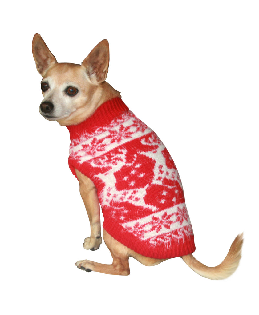 FeatherSoft Reindeer Dog Sweater