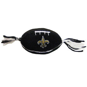 New Orleans Saints Catnip Football Toy