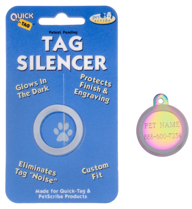 Round Shaped ID Tag Silencer / Protector