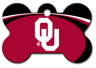 Oklahoma Sooners Dog ID Tag
