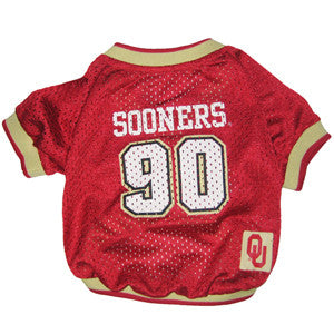 Oklahoma Sooners Dog Jersey (Discontinued)