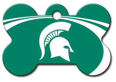 Michigan State Spartans Dog ID Tag