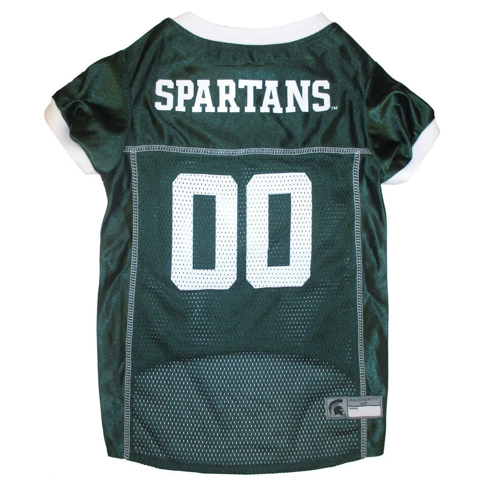 Michigan State Spartans Dog Jersey